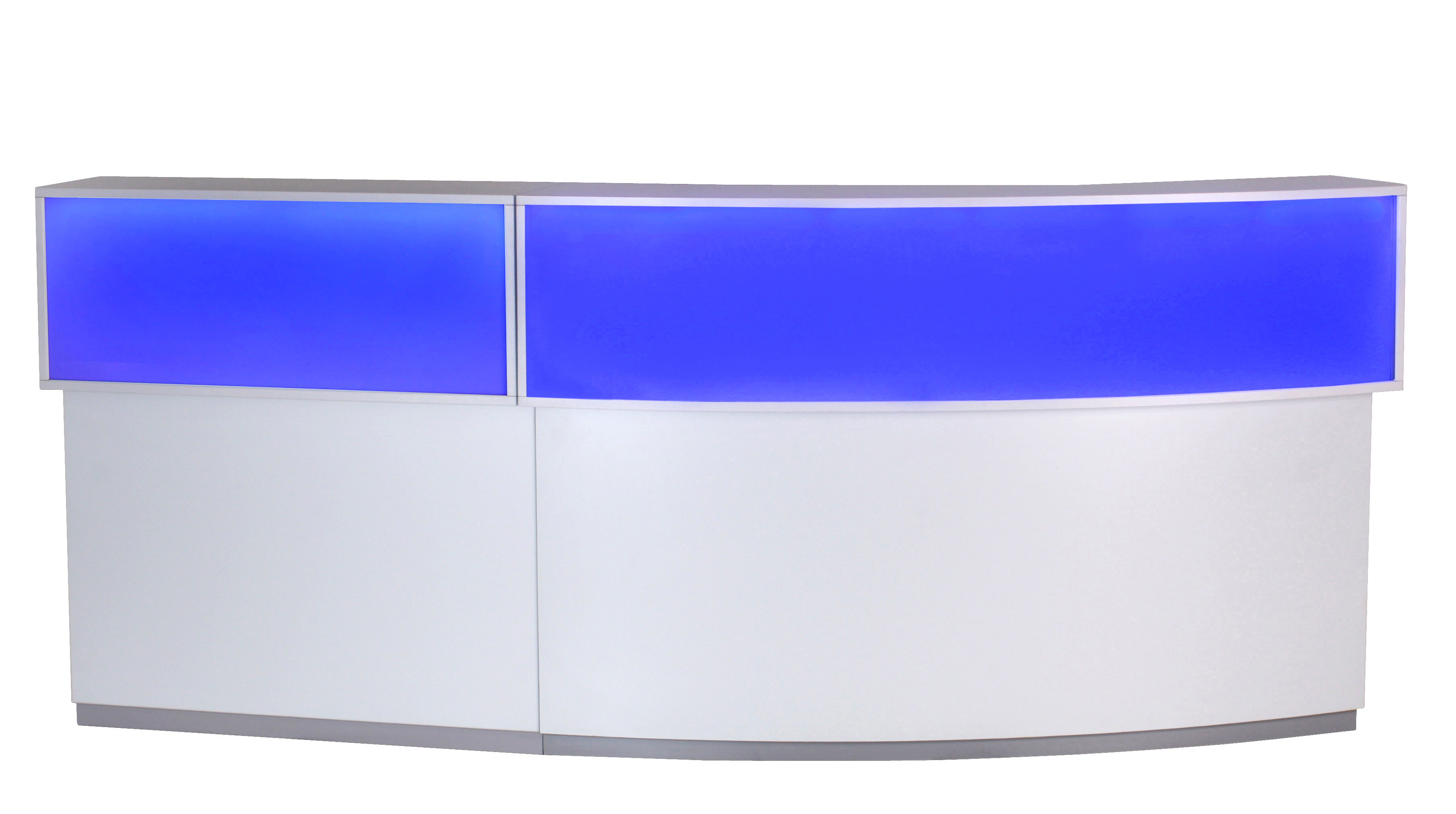 Counter mit led beleuchtung